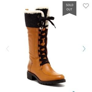 Cole Haan Henson Genuine Sheep Fur Tall Boot 9.5